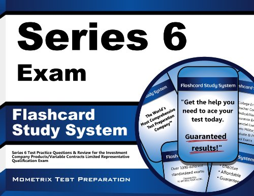 Series 6 Exam Flashcard Study System: Series 6 Test Practice Questions & Review for the Investment Company Products/Variable Contracts Limited Representative Qualification Exam