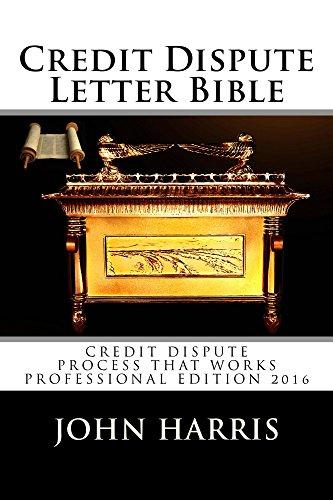 Letters Software - Credit Dispute Letter Bible: Credit Rating and Repair Book