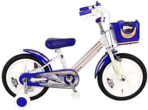 SINKANSEN(シンカンセン) 子供用自転車 16型 新幹線 E7系かがやきネイビー B01MUEY8RP