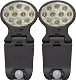 2 Pack Wireless Motion Sensor LED Lights