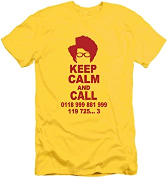 Camiseta de Manga Corta para Hombre, ZBY, Palabra amarilla t roja, l: Amazon.es: Bricolaje y herramientas