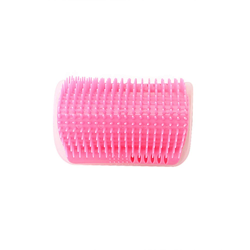 chongwan Pet Cat Self Groomer with Corner Dogs Cat Massage Brush Hair Removal Comb Tool Cat Supplies Cat Grooming Accessories
