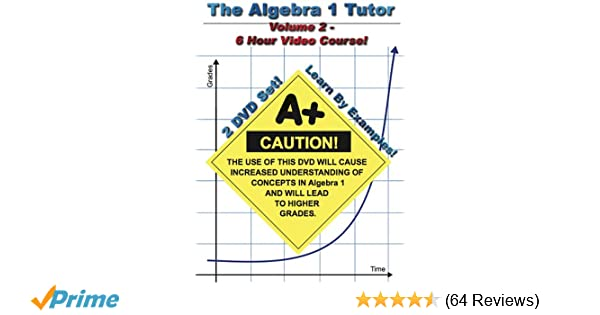 Amazon com: The Algebra 1 Tutor: Volume 2: Jason Gibson