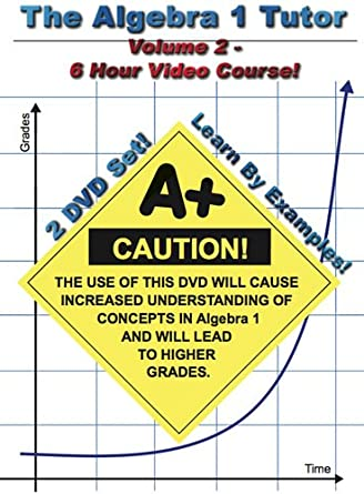 Amazon.com: The Algebra 1 Tutor: Volume 2: Jason Gibson ...
