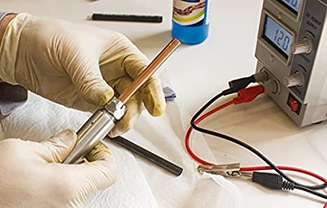 Galvanisierstift para tampón galvanik lápiz para 8mm Ø ánodo para galvanisieren