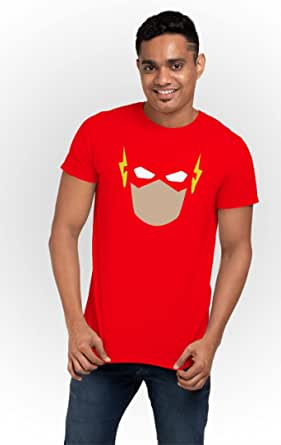 ART GALLERY MISR Red Round Neck T-Shirt For Men - 2725601726125