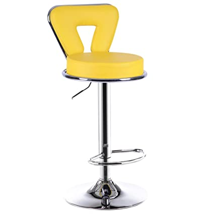 Amazon.com: Stylish minimalist bar chairs, bar chairs, elevating ...