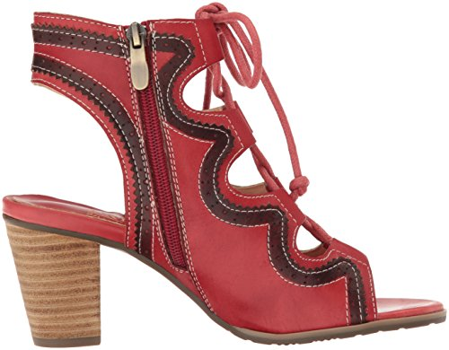 L'Artiste by Spring Step Women's Alejandra-Rd Dress Sandal Red g13j8