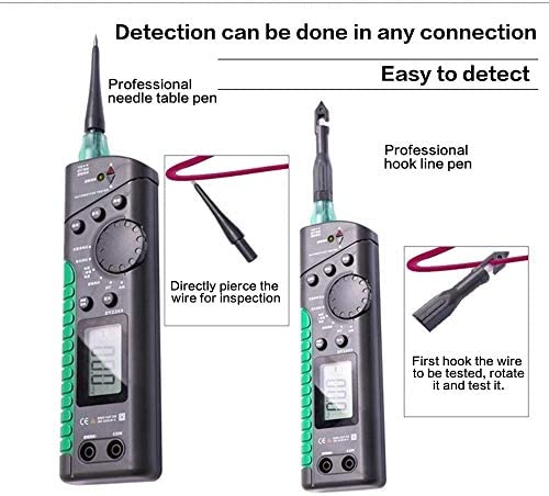 WY-YAN Car Tester Automotive Multifunction Tester Car Circuit Tester Digital Circuit Multimeter Logic Level Test Breaker Finder Testing Tool