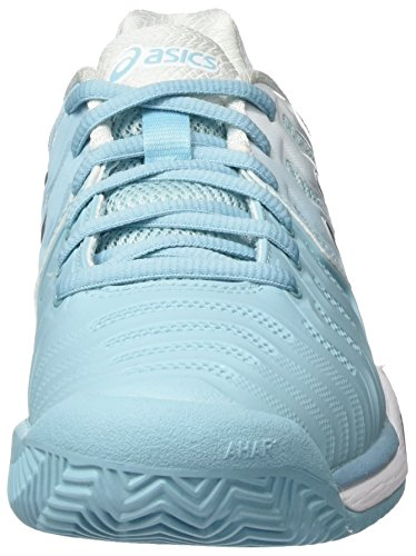 Gel Asics da resolution Bluesilverwhite Clay Scarpe 7 tennis multicolore porcellana donna da wTTdqRr