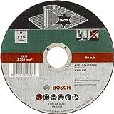 Bosch Mola Taglio Dritta, Inox 125 x 22.23 x 1.0 mm