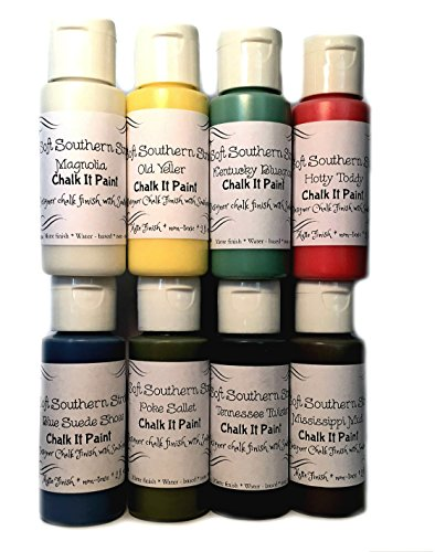 chalk-it-paint-set-8-colors-chalk-finish-for-art-crafts-furniture-glass-metal-fabric-and-more