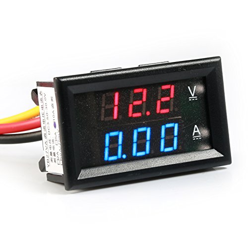 GEREE Accurate Voltmeter DC4 5 30V Multimeter
