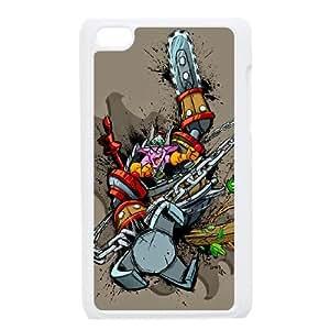 iPod Touch 4 Case White Dota2 TIMBERSAW DIY Gift pxf005-3715286