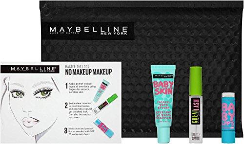 Maybelline New York NY Minute Makeup Kit, No Makeup Makeup Kit, Primer Gloss Mascara Makeup Set by Maybelline New York (Image #2)