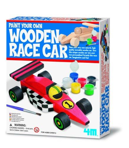 4M Paint Your Wooden Race