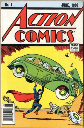 Action Comics Issue #1 Reprint (.50 Cent Cover)
