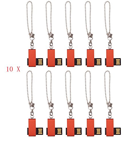 (FEBNISCTE 100pcs 1GB Mini Red Cheap Bulk Pack USB 2.0 Memory Stick)