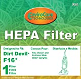 f16 hepa filter - Royal Dirt Devil Filter, F16 Vision Wide Glide 086710