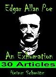 img - for Edgar Allan Poe - An Exhumation: 30 Articles book / textbook / text book