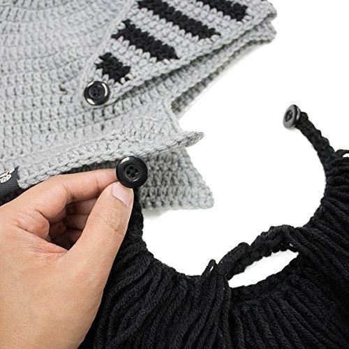 nbsp;el Barba sombrero bárbaro Caballero Knit Head® Original Negro barba nbsp;– vxw1wf