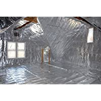 750 sqft Radiant Barrier Attic Foil Reflective Insulation 4x187.5 Perforated