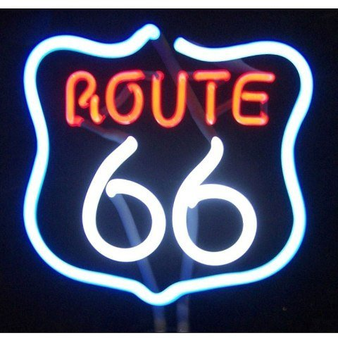Neonetics Business Signs Route 66 Neon Sign - Switch 66 Route Light