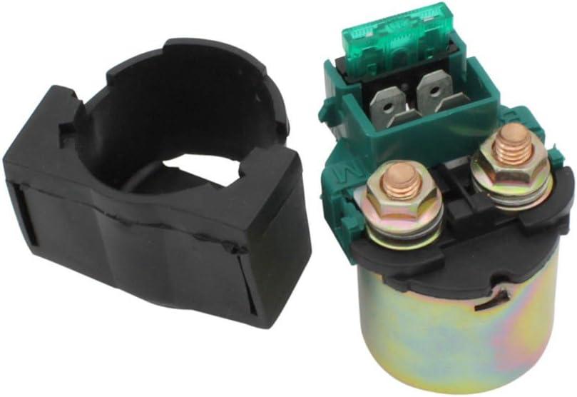 Cyleto Starter Solenoid Relay for Kawasaki BAYOU 220 KLF200 1988-2002ATV/BAYOU 250 KLF250 2003-2010 ATV/KLX650 KLX 650 1993-1996/VN800 VULCAN 800 1996-2005/HONDA VT750C Shadow 2000/SUZUKI GSXR750 1993
