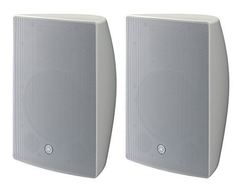 Yamaha VXS8W VXS Series 8 Inch Surface Mount Speaker - White Pair