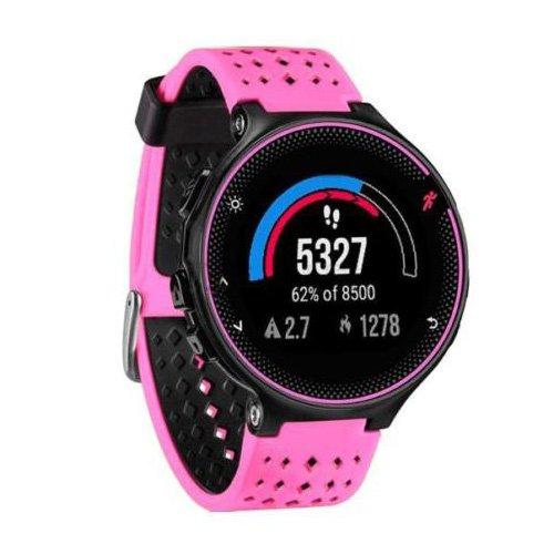 TOOGOO (R) silicona reloj de pulsera banda para Garmin Forerunner 230/235/630, color rosa: Amazon.es: Relojes