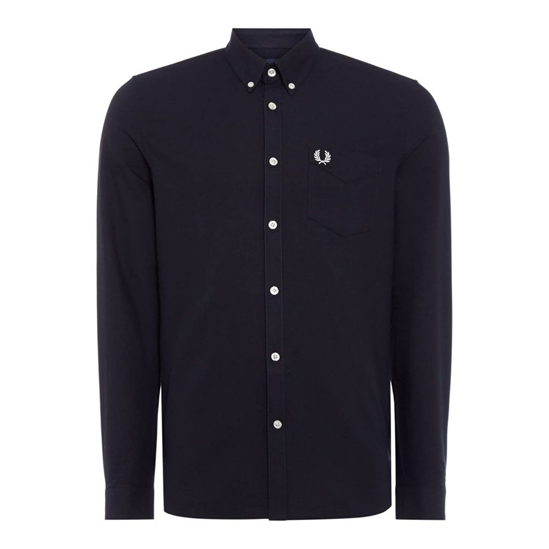 (フレッドペリー) Fred Perry メンズ トップス シャツ Long Sleeve Classic Oxford Shirt [並行輸入品] B07F9W3G75 Medium