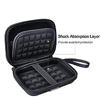 HESPLUS Hard EVA Carrying Case Travel Bag for Polaroid Zip Mobile Printer/Polaroid Snap Instant Digital Camera/HP Sprocket Portable Photo Printer from HESPLUS
