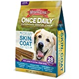 The Missing Link - Once Daily All Natural Omega Dental Chew - Skin, Coat & Teeth - L/XL Dog - 28 day supply