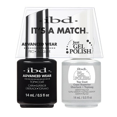 ibd Advanced Wear Color Duo Top Coat #464 UV Gel Color