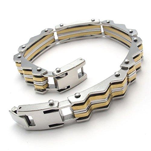temego-jewelry-mens-stainless-steel-braceletwide-biker-wave-links-bangle826-inchgolden-silver