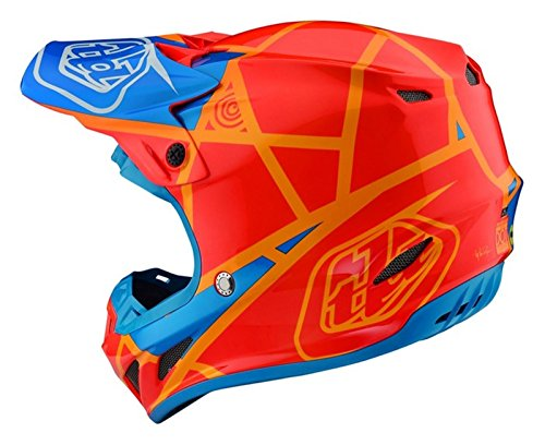 Amazon.es: Troy Lee Designs 2018 TLD SE4 18.1 Comp - Casco métrico MX, color naranja y miel, Coche y motocicleta, color Honey Orange, tamaño Large