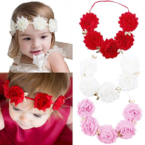 Nice Newborn Baby Girl Infant Crown Headband Baby Accessories