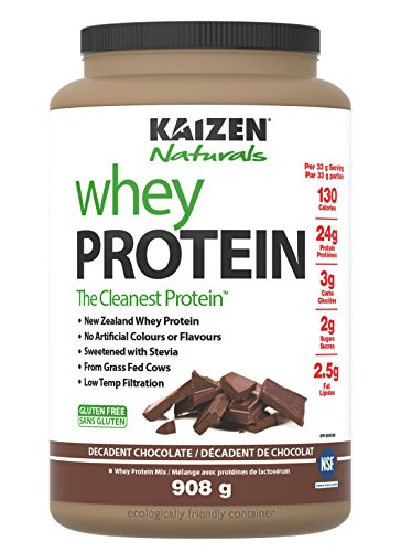 Kaizen Naturals Whey Protein Decadent Chocolate, 908 g Review