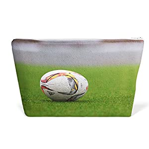 Westlake Art - Ball Football - Pen Pencil Marker Accessory Case - Picture Photography Office School Pouch Holder Storage Organizer - 125x85 inch (BAE20)