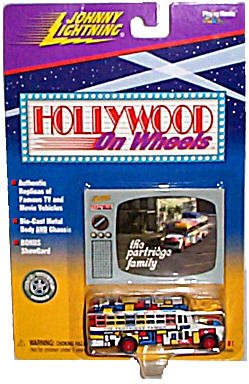 Johnny Lightning Limited Edition - Johnny Lightning Limited Edition Hollywood On Wheels Series 1(1998) The Partridge Family Bus(1 of 8)