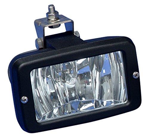 BEP 12V 55W Deck Lamp, Black, 8''