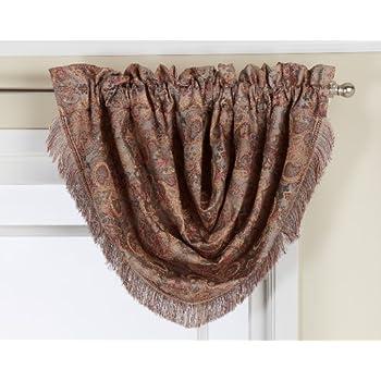 Amazon Com Lorraine Home Fashions Floral Lustre 48 Inch X