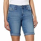Calvin Klein Jeans Ladies' Denim Bermuda Short (Light Blue, 8