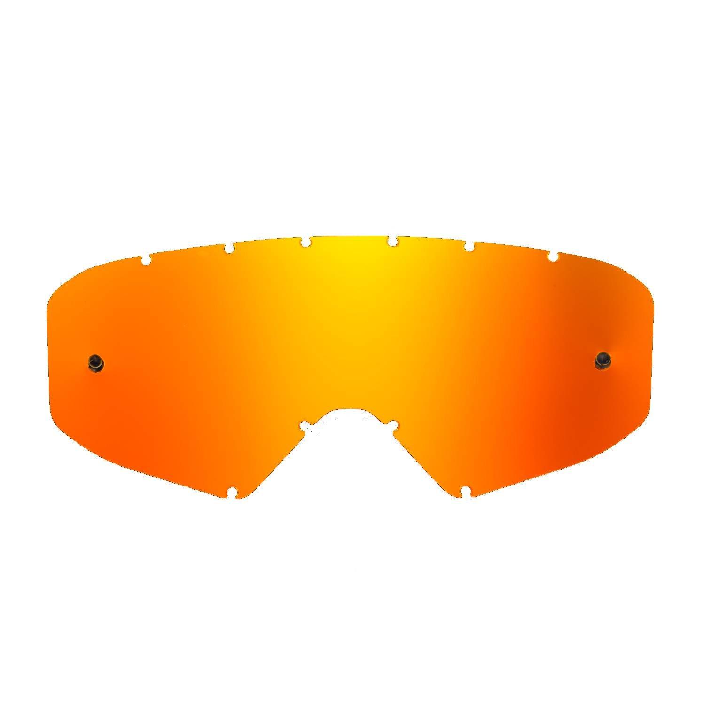SeeCle 41V203 lenti di ricambio per maschere fumè compatibile con maschera Ethen 05