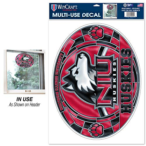 Wincraft NCAA Northern Illinois Multi-Use Decal Stained Glass