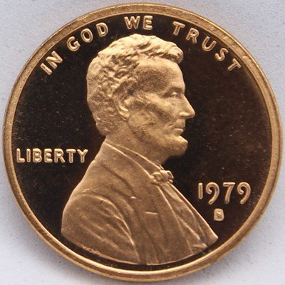 1979-S T1 Lincoln Cent - Proof Type 1 -