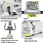 HyXia-Cyclette-Indoor-Ciclismo-Spin-Bike-Allenamento-Cardio-Cyclette-A-Controllo-Magnetico-Ciclismo-Manubri-Regolabili-Resistenza-Sedile-Monitor-Digitale