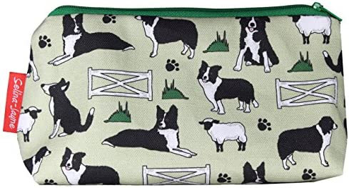 Selina-Jayne Border Collie Dogs Limited Edition Designer Toiletry Bag