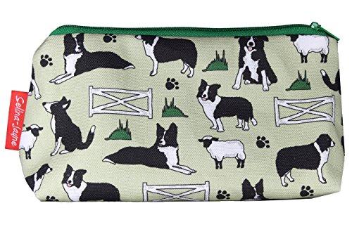 Selina-Jayne Border Collie Dogs Limited Edition Designer Toiletry Bag