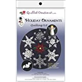 Quilled Creations Q417 Quilling Strips Holiday Ornament Kit